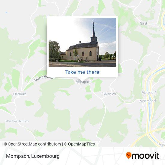 Mompach map
