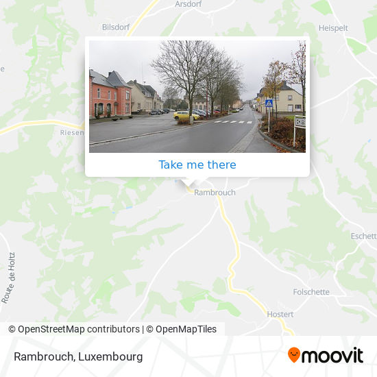 Rambrouch map