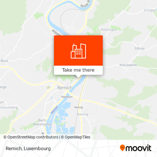 Remich map