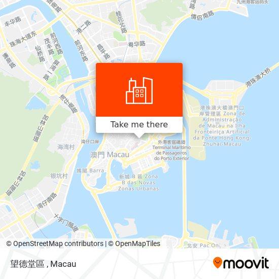 望德堂區 map