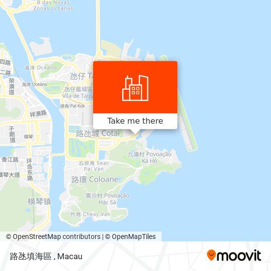 路氹填海區 map