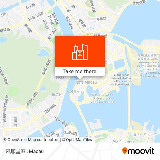 風順堂區 map