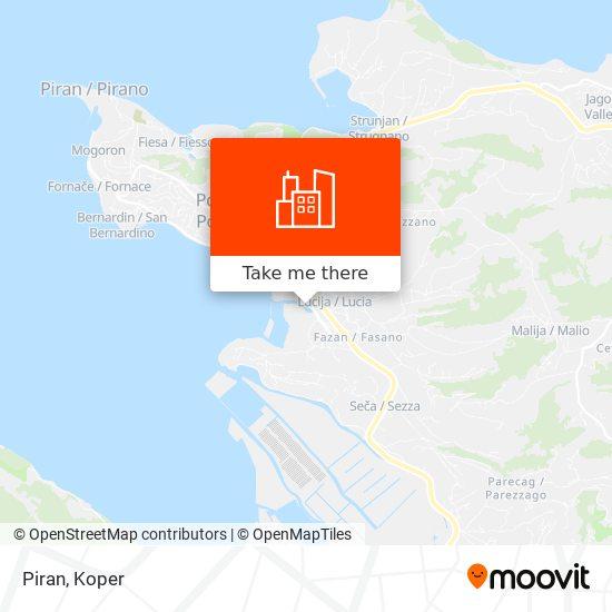 Piran map