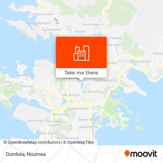 Dumbéa map