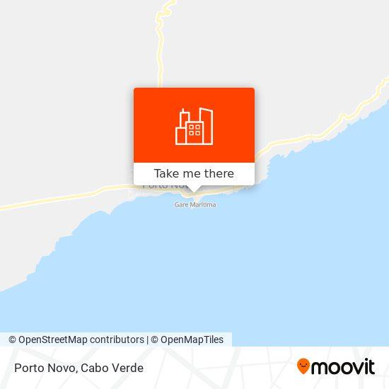 Porto Novo mapa