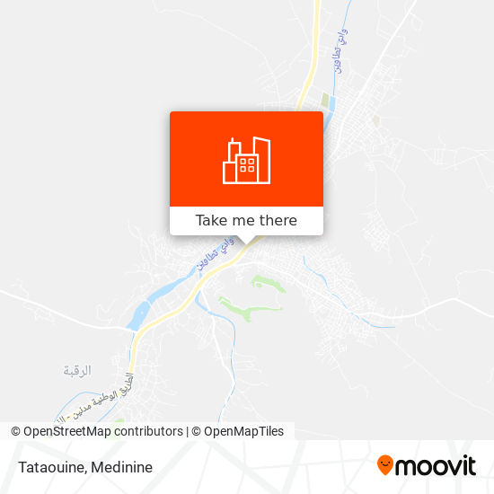 Tataouine plan
