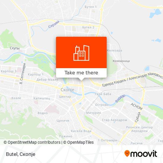 Butel map