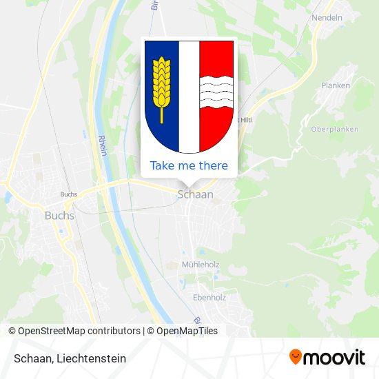 Schaan map