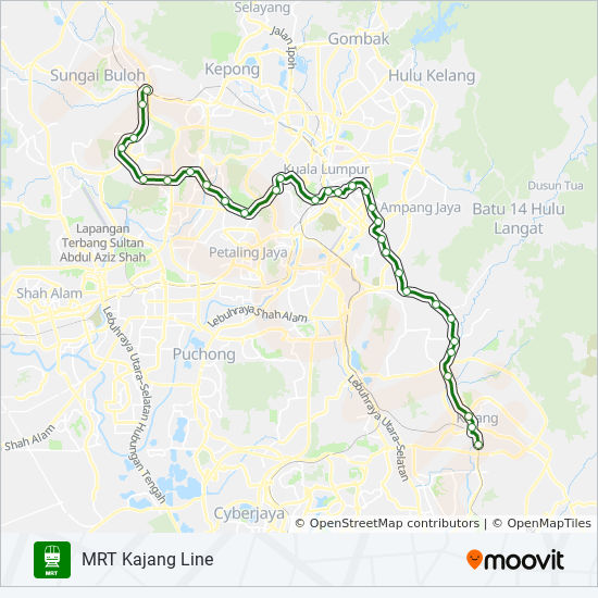 9 Route: Time Schedules, Stops & Maps - Kajang