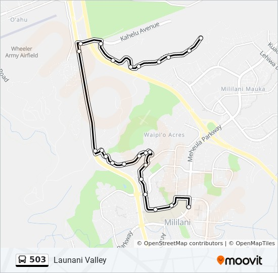 503 Route Time Schedules Stops Amp Maps Launani Valley