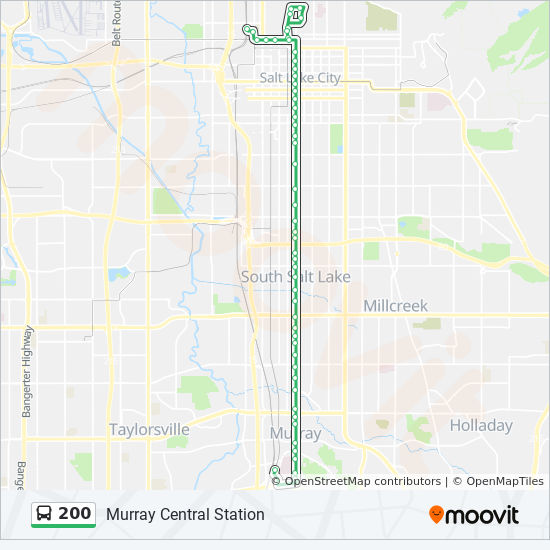 200 Route Time Schedules Stops Maps Murray Central Station