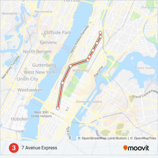 Train Subway Map New York.3 Route Time Schedules Stops Maps Uptown