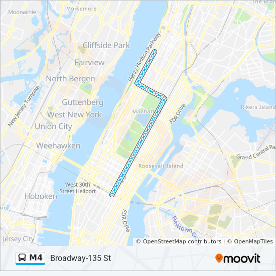 M4 Route: Time Schedules, Stops & Maps - Ltd Midtwn 32 St & 5 Av Via on vatican museum map, new york city area map, museums in ny map, new york attractions map, new york museums map,