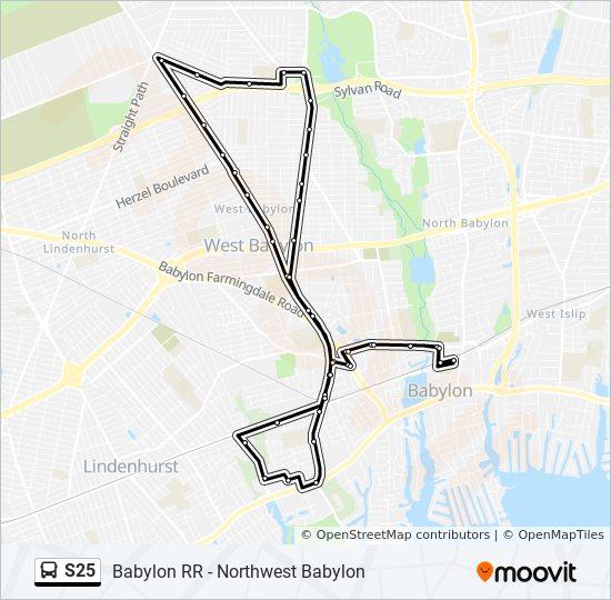 Babylon Karte.Linie S25 Fahrpläne Haltestelle Karten Babylon Loop
