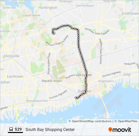Babylon Karte.Linie S29 Fahrpläne Haltestelle Karten South Bay Shopping Center
