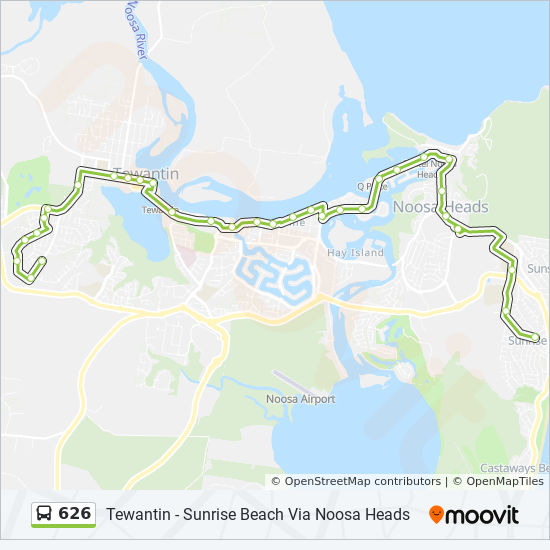 626 Route Schedules Stops Amp Maps Sunrise Beach
