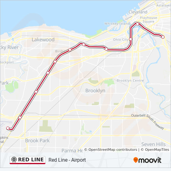 Railroad Map Of Italy.Red Line Route Time Schedules Stops Maps Red Line E 79th Street