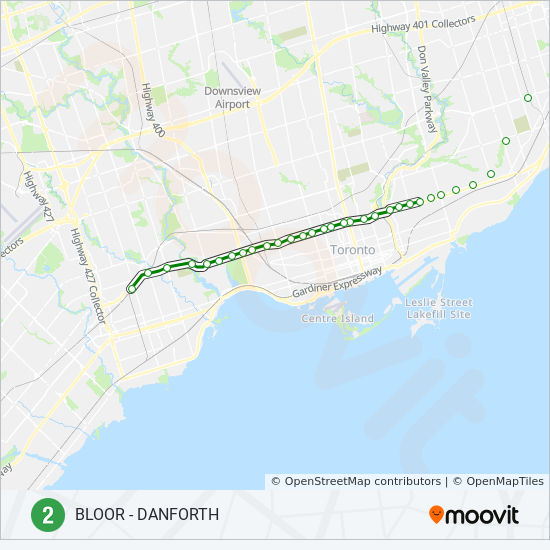 Toronto Bus And Subway Map.2 Route Time Schedules Stops Maps Towards Kennedy