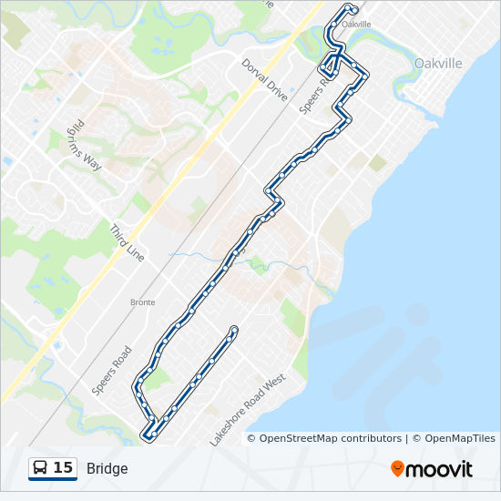 15 Route: Time Schedules, Stops & Maps - Oakville Go