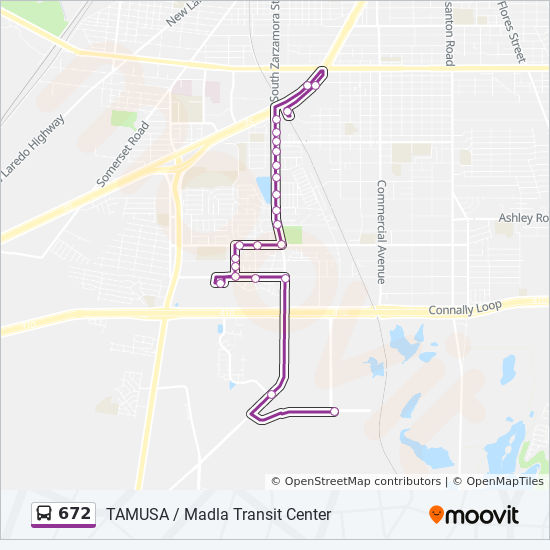 672 Route: Time Schedules, Stops & Maps - Madla Transit ... on smu law campus map, rosemont campus map, jamestown campus map, fresno campus map, spring arbor campus map, prairie view campus map, eastern washington campus map, sioux falls campus map, bowie campus map, newark campus map, irvine campus map, texas austin campus map, solano campus map, kingsville campus map, university of the sciences campus map, new haven campus map, clearwater campus map, idaho campus map, white house campus map, united states military academy campus map,