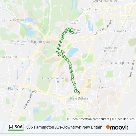 506 Route Time Schedules Stops Amp Maps 506 Farmington