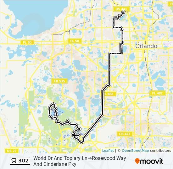 Linie 302 Fahrplane Haltestelle Karten World Drive And