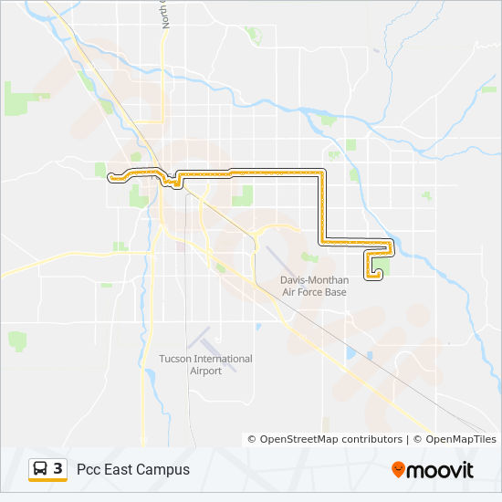 3 Route Time Schedules Stops Maps Pcc West Campus