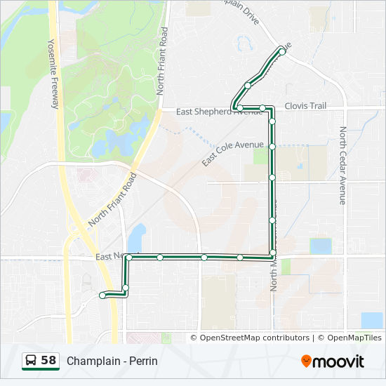 58 Route: Time Schedules, Stops & Maps - El Paso Wb