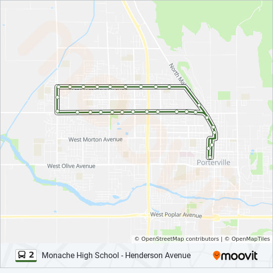 2 Route: Time Schedules, Stops & Maps - Henderson Avenue (Wb ...
