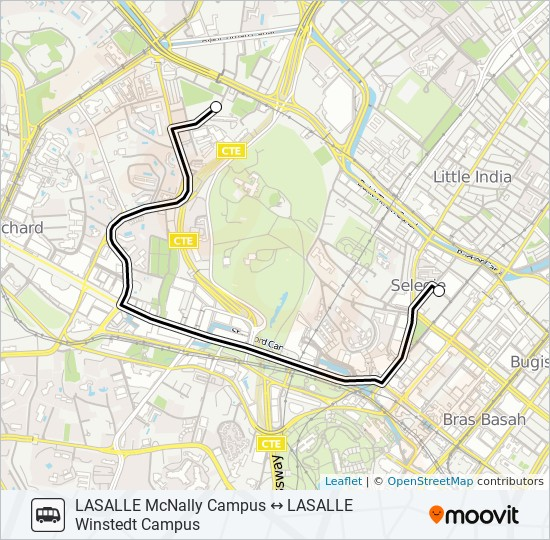 Lasalle Shuttle Route Time Schedules Stops Maps Lasalle