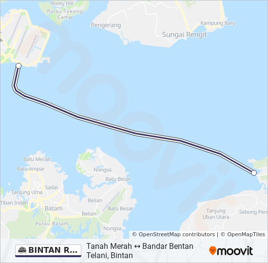 Map Of Uk Ferry Routes.Bintan Resort Ferries Route Time Schedules Stops Maps Bandar
