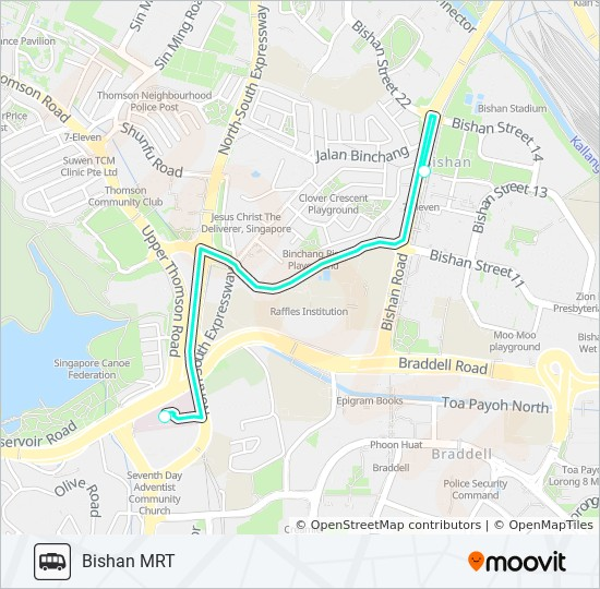 MOUNT ALVERNIA HOSPITAL SHUTTLE Route: Time Schedules, Stops