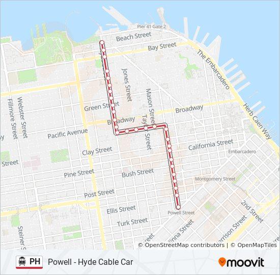 Kalifornien Karte Pdf.Linie Ph Fahrpläne Haltestelle Karten Beach Hyde