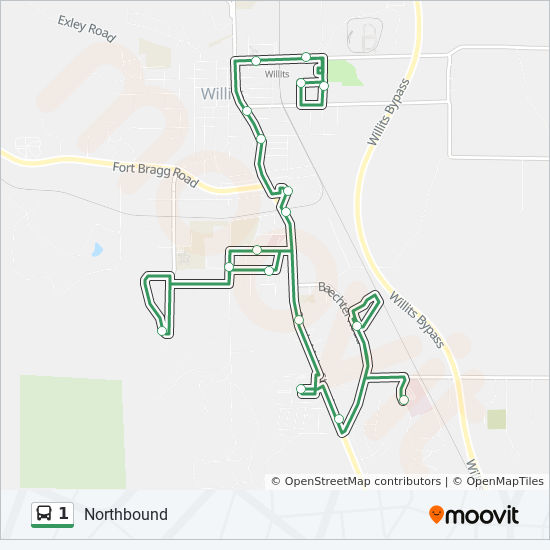 Mendocino College Campus Map.1 Route Time Schedules Stops Maps