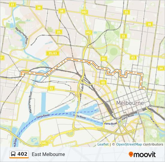 402 bus Line Map