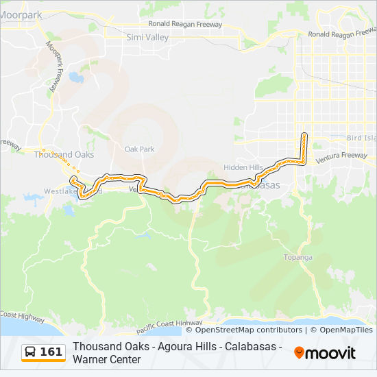 161 Route Time Schedules Stops Amp Maps Canoga Sta