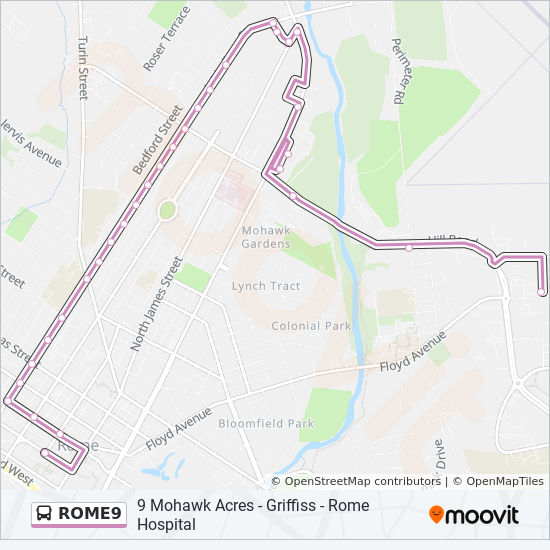 Map Of Downtown Rome on