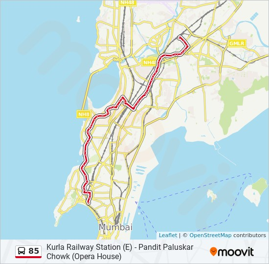 85 Route Time Schedules Stops Maps World Trade Centre