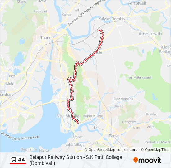 Mumbai Local Map Pdf