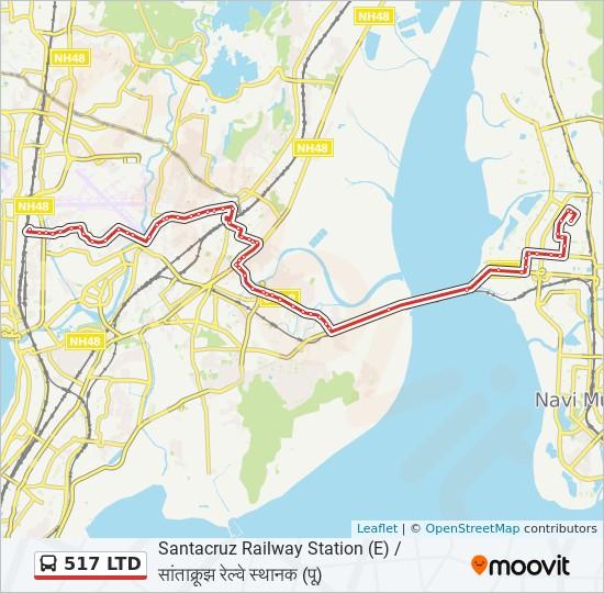 old santa cruz highway map 517 Ltd Route Time Schedules Stops Maps Santacruz Station E old santa cruz highway map