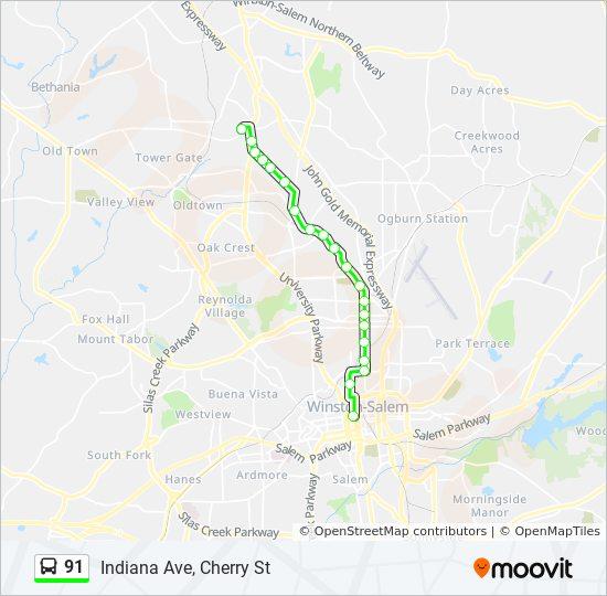 91 Route: Time Schedules, Stops & Maps - 91 To Downtown on salem golf club, salem in october, salem mall, salem on halloween, salem logo, salem capitol building, salem india, salem tv,