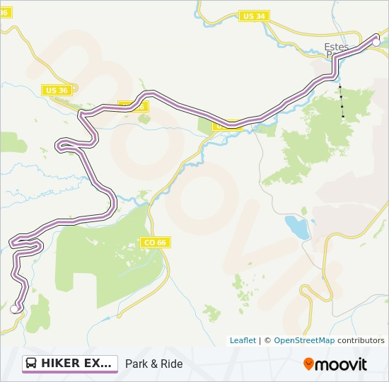 HIKER EXPRESS Route: Time Schedules, Stops & Maps - Park & Ride