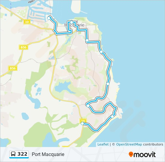 322 Route: Time Schedules, Stops & Maps - Lighthouse Plaza To Port