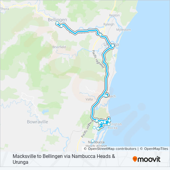358 Route Time Schedules Stops Maps Macksville