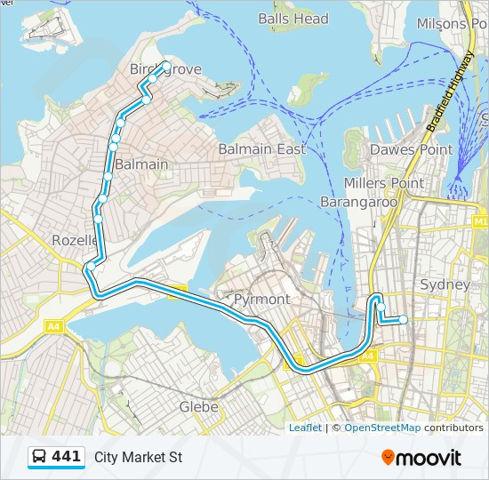 441 Route Time Schedules Stops Amp Maps City Market St