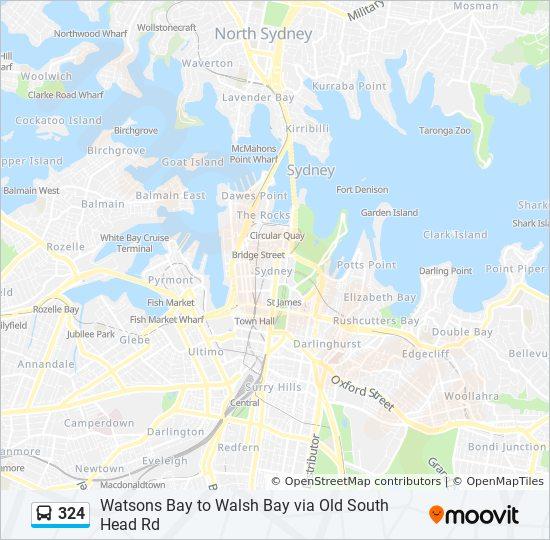 324 Route: Schedules, Stops & Maps - Vaucluse Heights on provence map, digne-les-bains map, nain map, condell park map, rockdale map, mondragon map, leeds castle map, corse map, mascot map, beacon hill map, newcastle map, sydney central business district map, aquitaine map, loir et cher map, loire map, riverstone map, lot map, bonnieux map, luberon map, aubagne map,