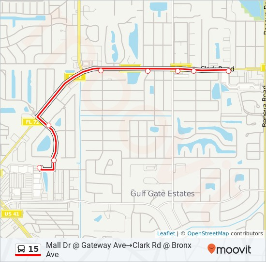 15 Route: Time Schedules, Stops & Maps - Sarasota Pavilion ... on frostproof map, holmes map, cape coral map, narcoossee map, myakka map, tamiami fl map, grayton beach on map, fort myers map, siesta key map, tampa area map, ontario intl airport map, florida map, boca grande map, warm mineral springs map, anna maria map, longboat map, jacksonville map, lakewood park map, lido key map, lake okeechobee map,