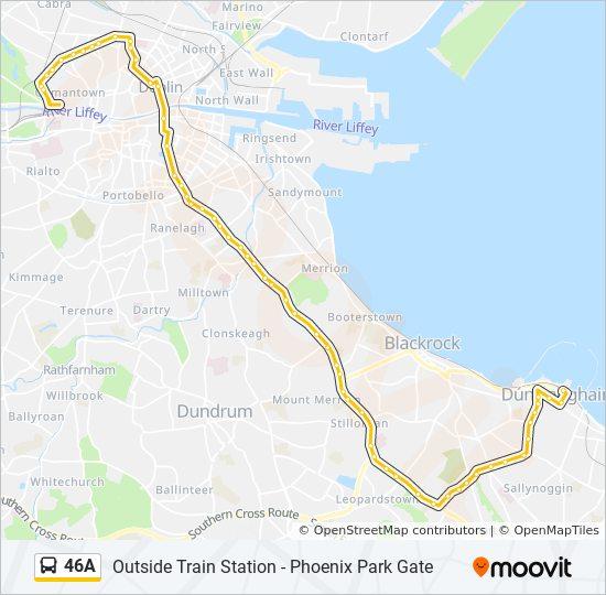 Irland Karte Pdf.Linie 46a Fahrplane Haltestelle Karten Outside Train