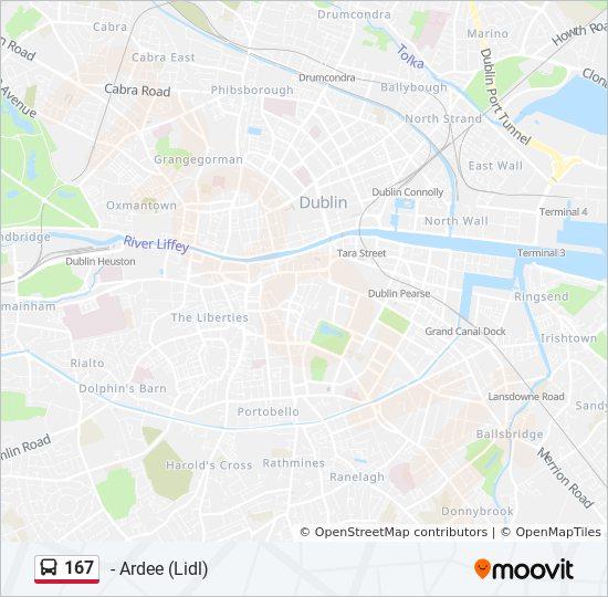 Ruta 167 Vremenski Rasporedi Stanice I Mape
