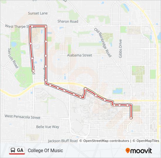 GA Route: Time Schedules, Stops & Maps - College Of Music on ga sc map, buford ga street map, ga rivers map, ga rest area map, ga agriculture map, ga fl map, georgia map, ga city map, ga road atlas, ga railway map, ga regions map, ga power map, ga co map, ga road test, ga state map, pooler ga map, ga airport map, ga forest map, ga travel map, ga stone map,